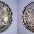 1911 Canada 5 Cent World Silver Coin - Canada - George V - Toned