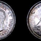 1940 Canada 10 Cent World Silver Coin - Canada - George VI