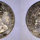 Undated (mid-1800's) Lauer Token/Jeton Prussia Germany - Friedrich Wilhelm III