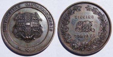 1896 Great Britain Cambridge University Volunteer Rifle Corps Medal