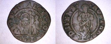1676-1684 Venetian 12 Bagattini World Coin Under Doge Alvise Contarini - Venice