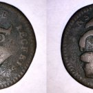 1733 Isle of Man Half (1/2) Penny World Coin