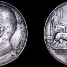 1925-R Italian 50 Centesimi World Coin - Italy - Reeded Edge