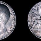 1920-R Italian 50 Centesimi World Coin - Italy - Reeded Edge