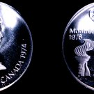 1979 Russian 10 Rouble Olympic Silver Proof Coin - Soviet Russia USSR Judo