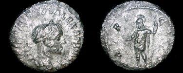 222-235AD Roman Imperial Severus Alexander AR Denarius Coin - Antioch Mint