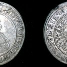 1697-CB German States Silesia 3 Kreuzer World Silver Coin - Leopold I
