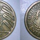 1924-A German 10 Pfennig World Coin -  Germany