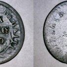 1840 // AN 37 Haitian 2 Centimes World Coin - Haiti