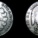 1845-So IJ Chilean 2 Reales World Silver Coin - Chile - Condor - Vulture