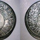 1689 German States Wurzburg 1 Schilling World Silver Coin - Johann Gottfried II