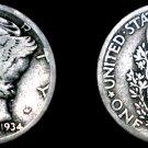 1934-P Mercury Dime Silver
