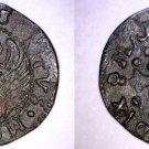 (1595-1605) Venetian Sesino World Coin Under Doge Marino Grimani - Venice