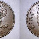 1963 Irish 1 Penny World Coin - Ireland