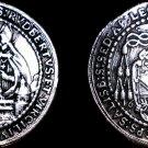 1694 Salzburg 1/2 Thaler World Silver Coin - Austria - Johann Ernst - Ex Mount