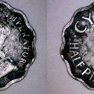 1934 Cyprus Half (1/2) Piastre World Coin