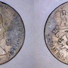1839-JA Spanish 8 Maravedis World Coin - Spain - Isabel II
