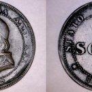 1867-XXIR Italian States Papal States 1 Soldo World Coin - Pius IX - Small Date