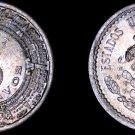 1937-M Mexican 5 Centavo World Coin - Mexico