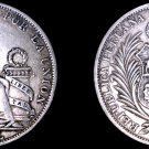 1895-TF Peruvian 1 Sol World Silver Coin -  Peru