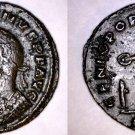 307AD Roman Imperial Maximianus AE29 Follis - Ancient Rome - Lugdunum
