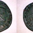 305-306AD Roman Imperial Constantius I AE28 Follis - Ancient Rome