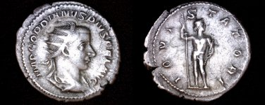 238-244AD Roman Imperial Gordian III AR-24 Antoninianus Coin - Ancient - RIC-84