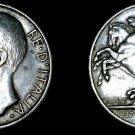 1927-R Italian 10 Lire World Silver Coin - Italy *FERT*