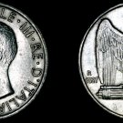 1927-R Italian 5 Lire World Silver Coin - Italy - KM-67.2 **FERT**