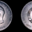 1971-A German Democratic Republic 20 Mark Coin- East Germany- Ernst Thalmann