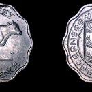 1959 Guernsey 3 Pence World Coin - Elizabeth II