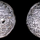1704 (AH1115 V) Turkish 1 Zolota World Silver Coin - Turkey - Ahmed III