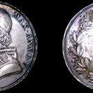1850-VR Italian States Papal States 1 Scudo World Silver Coin - Pius IX