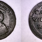 1797 Italian States Papal States 2-1/2 Baiocchi World Coin - Pius VI -  Error