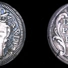 ND(1700-21) Italian States Papal States 1 Grosso World Silver Coin - Clement XI