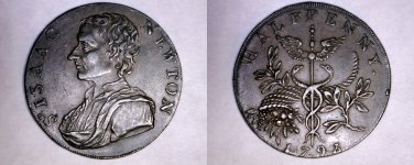 1793 Great Britain Middlesex Halfpenny Conder Token - D&H 1033