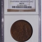 1894 California Midwinter Expo SC$1- HK-245A - NGC AU55 - So-Called Dollar