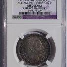 1912-VBP Denmark 2 Kroner Accession Christian X World Silver Coin NGC AU Details