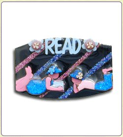 Literacy Pin by Lucinda