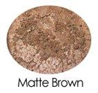 Matte Brown All Purpose Mineral Powder Sample
