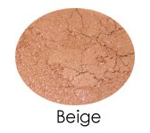 Matte Beige Shadow Sample Baggie