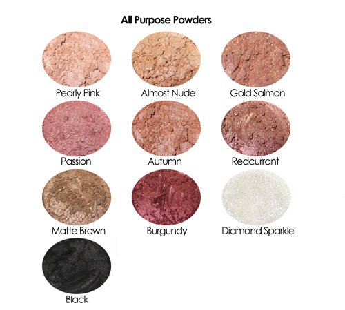 7 All Purpose Powders Sample Set 5% off