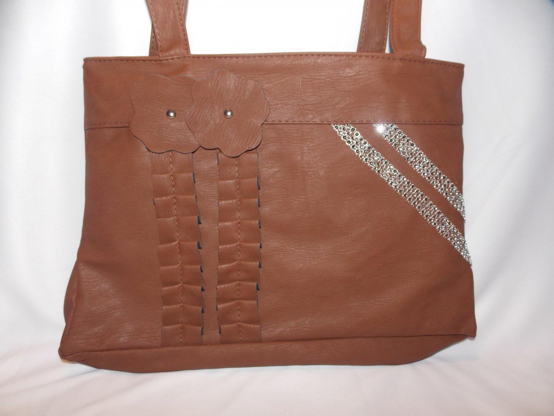 Brown Chun Handbag (P117BR)