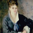 Lady in a Black Dress, 1876 - Poster (24x32IN)