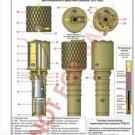 Vinteja charts of - RGD-33 - A3 Paper Print