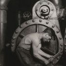 Lewis W. Hine - Steamfitter - 24x18IN Canvas Painting