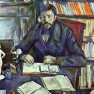 Portait of Gustave Geffroy by Cezanne - 24x18 IN Canvas