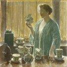 Strawberry Tea Set, 1912 - 30x40 IN Canvas
