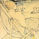 The traveller by Toulouse-Lautrec - A3 Poster