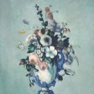 Flowers in a Rococo Vase, 1876 - A3 Poster